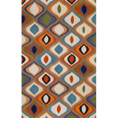Lilly Multi Area Rug Rug Size: 5' x 7'6