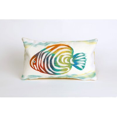 Bluffs Rainbow Fish Lumbar Pillow