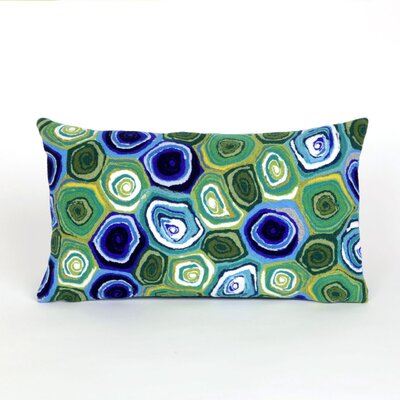 Tengan Swirl Lumbar Pillow Color: Green