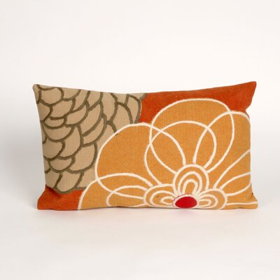 Tengan Disco Lumbar Pillow Color: Orange