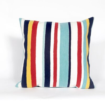 Bluffs Riviera Stripe Throw Pillow