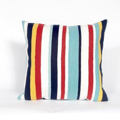 Bluffs Riviera Stripe Throw Pillow