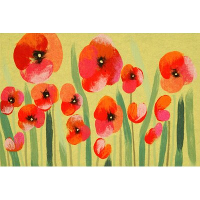 Madelyn Poppies Doormat