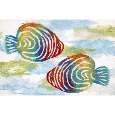Bluffview Rainbow Fish Doormat