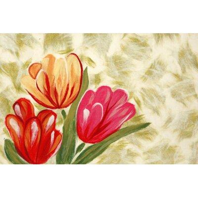 Madelyn Tulips Doormat