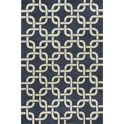 Collingdale Denim Indoor/Outdoor Area Rug Rug Size: 36 x 56