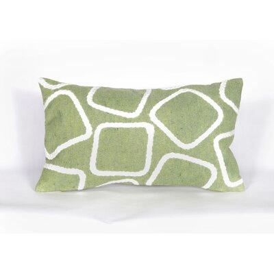 Colley Lumbar Pillow Color: Lime