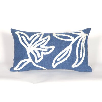 Winchell Windsor Lumbar Pillow Color: Blue