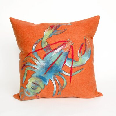 Visions II Lobster Throw Pillow