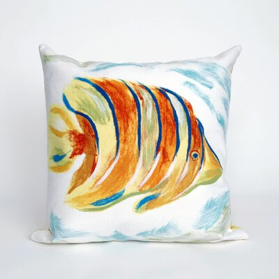 Bluffs Angel Fish Throw Pillow