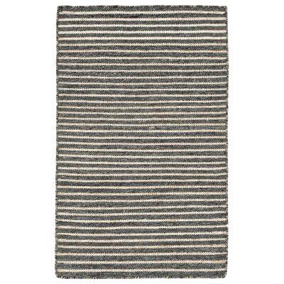 Blueridge Hand-Woven Charcoal Outdoor Area Rug