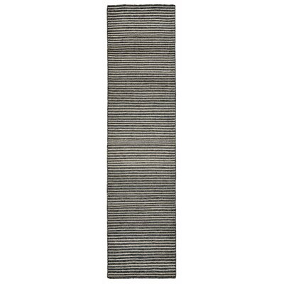 Blueridge Hand-Woven Charcoal Outdoor Area Rug