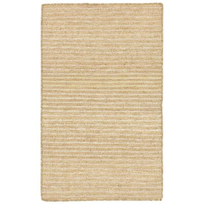 Blueridge Hand-Woven Neutral Indoor/Outdoor Area Rug Rug Size: 36 x 56