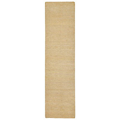 Blueridge Hand-Woven Neutral Indoor/Outdoor Area Rug Rug Size: Runner 2 x 8