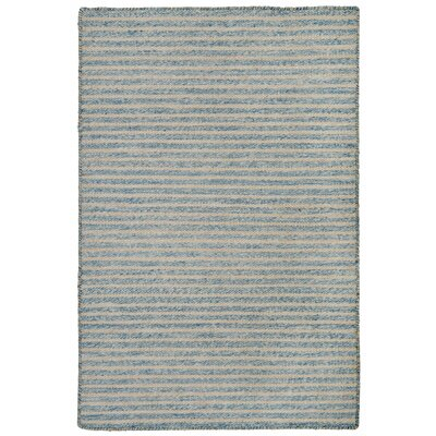 Blueridge Hand-Woven Blue Indoor/Outdoor Area Rug Rug Size: 76 x 96