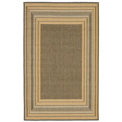 Clatterbuck Etched Gray Indoor/Outdoor Area Rug Rug Size: 33 x 411