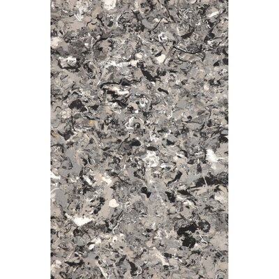 Chacko Grey Indoor/Outdoor Area Rug Rug Size: 4'10