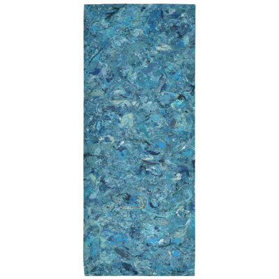 Chacko Blue Indoor/Outdoor Area Rug Rug Size: 410 x 76