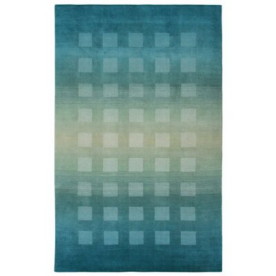 Buckey Hand-Loomed Blue Area Rug Rug Size: Runner 2'3