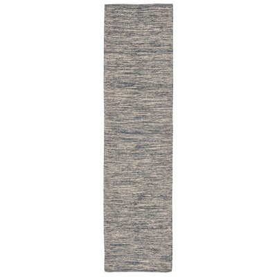 Boerner Hand-Woven Navy Indoor/Outdoor Area Rug Rug Size: Runner 2 x 8