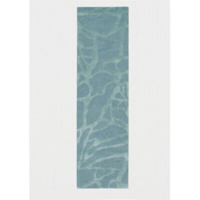 Roma Hand-Tufted Blue Area Rug Rug Size: Runner 23 x 8