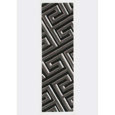 Gaydos Hand-Tufted Gray Area Rug Rug Size: Runner 23 x 8