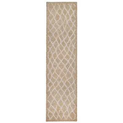 Bogard Hand-Tufted Neutral Indoor/Outdoor Area Rug Rug Size: Runner 2 x 8