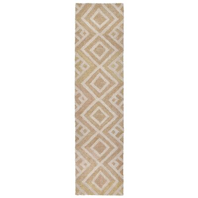 Chamness Hand-Tufted Neutral Indoor/Outdoor Area Rug Rug Size: 36 x 56