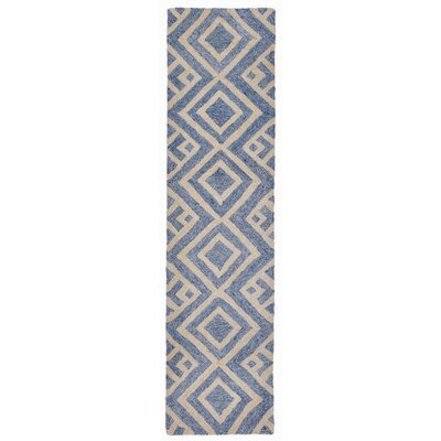 Wooster Hand-Tufted Denim Indoor/Outdoor Area Rug Rug Size: 5 x 76