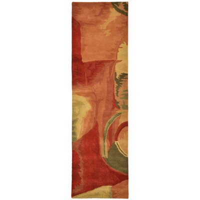 Terrill Fire Area Rug Rug Size: Runner 23 x 8