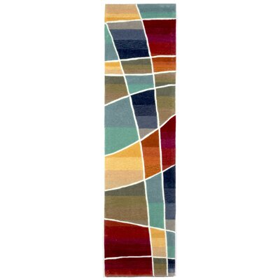 Adela Collage Area Rug Rug Size: 36 x 56