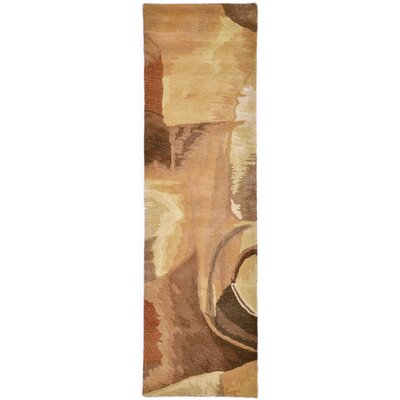 Terrill Earth Area Rug Rug Size: 36 x 56