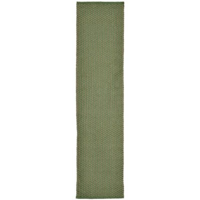 Chelsea Green Pebbles Indoor/Outdoor Rug Rug Size: 3'6