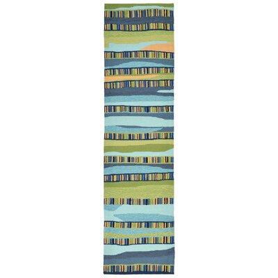 Derby Blue Area Rug Rug Size: Runner 2 x 8