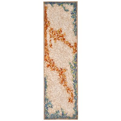 Visions IV Elements Neutral Area Rug Rug Size: Runner 13 x 8