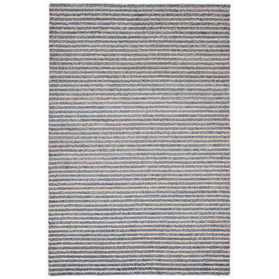Bogard Hand-Tufted Blue Indoor/Outdoor Area Rug Rug Size: 36 x 56