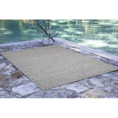 Bogard Hand-Tufted Blue Indoor/Outdoor Area Rug Rug Size: Rectangle 36 x 56