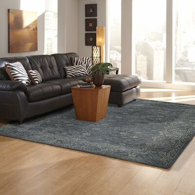 Adella Hand-Tufted Blue Indoor/Outdoor Area Rug Rug Size: 36 x 56