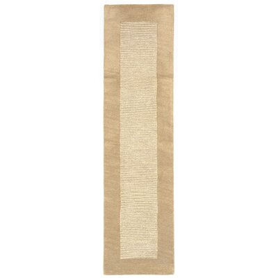 Mercer Hand-Tufted Natural Area Rug Rug Size: Runner 2 x 8