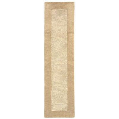 Mercer Hand-Tufted Natural Area Rug Rug Size: Runner 2 x 8