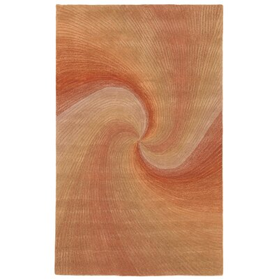Richmond Sunset Waves Area Rug Rug Size: 5 x 8