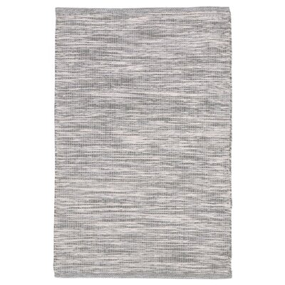 Boerner Hand-Woven Gray Indoor/Outdoor Area Rug Rug Size: 36 x 56