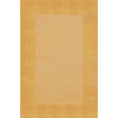 Dewsbury Gold Border Area Rug Rug Size: Rectangle 9 x 12