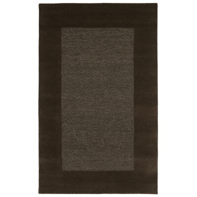 Dewsbury Charcoal Border Area Rug Rug Size: Rectangle 36 x 56