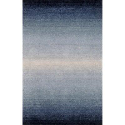 Hamilton Blue Wool Hand-Tufted Area Rug