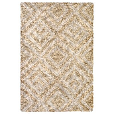 Chamness Hand-Tufted Neutral Indoor/Outdoor Area Rug Rug Size: 2' x 3'