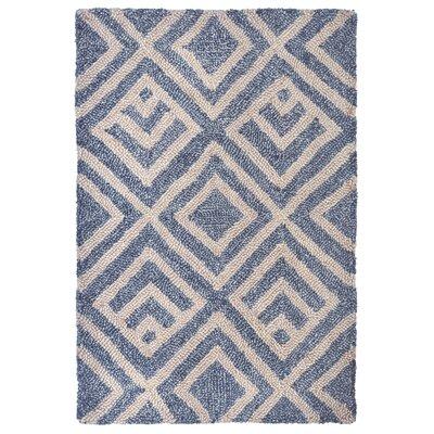 Wooster Hand-Tufted Denim Indoor/Outdoor Area Rug Rug Size: 2 x 3