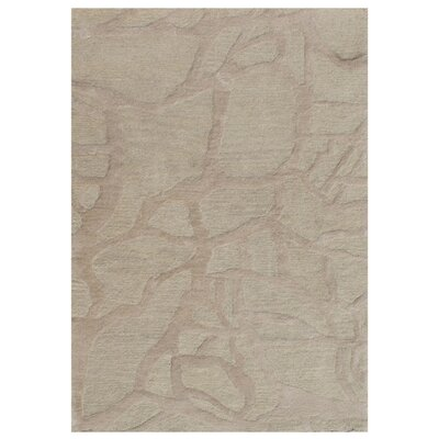 Gaydos Hand-Tufted Neutral Area Rug Rug Size: 36 x 56