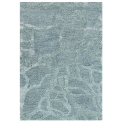 Roma Hand-Tufted Blue Area Rug Rug Size: 36 x 56