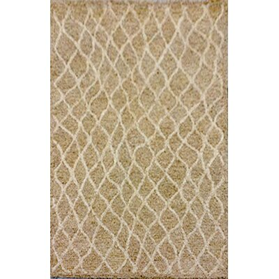 Bogard Hand-Tufted Neutral Indoor/Outdoor Area Rug Rug Size: 36 x 56
